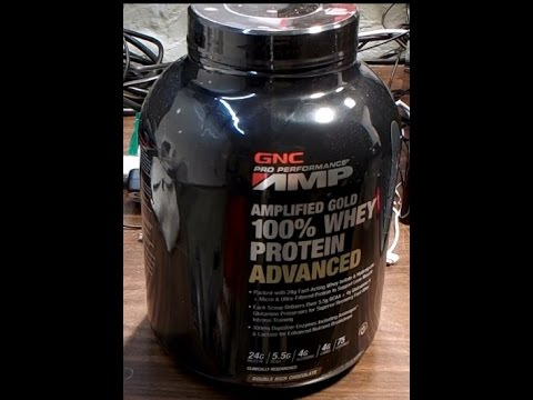 GNC Protein Amp Muscle Bodybuilding Workout Exercise Chocolate