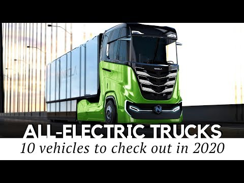 10 All-Electric Trucks and Freighters Showcasing the Future of Cargo Vehicles