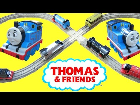 THOMAS AND FRIENDS SURPRISE TOYS TRACKMASTER TALKING TRAIN TAKE N PLAY ACCIDENTS HAPPEN CRASH!