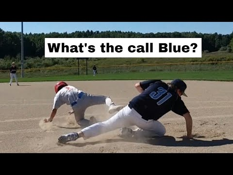 Obstruction Or Interference? You Make The Call - Baseball Rules.