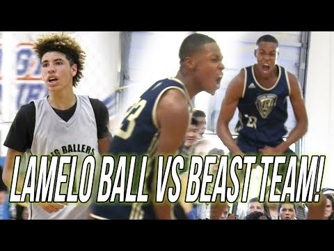LaMelo Ball VS 53 POINT GAME From Ajare Sanni! Big Ballers BEST OPPONENT Since Compton Magic!