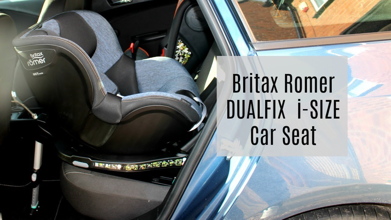 britax r mer dualfix i size car seat review installation ad youtube. Black Bedroom Furniture Sets. Home Design Ideas