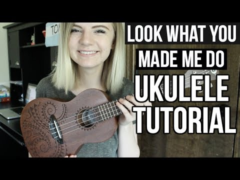 Look What You Made Me Do - Taylor Swift | UKULELE TUTORIAL