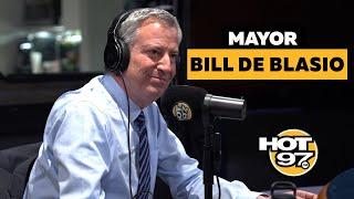 Mayor Bill de Blasio on Bloomberg's run, Stop & Frisk + the NYPD