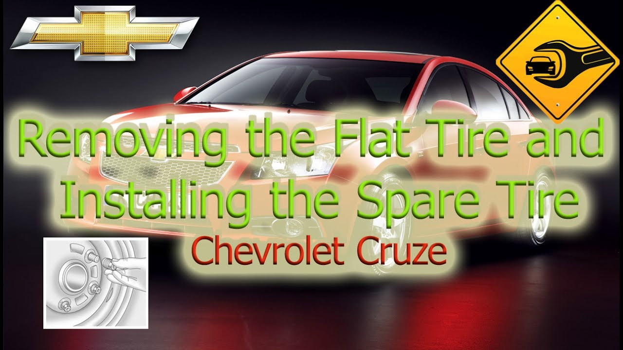 Chevrolet Sonic Owners Manual: Removing the Flat Tire and Installing the Spare Tire