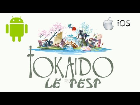 TOKAIDO le test par Cap' Phasmagic - disponible sur iOS et Android