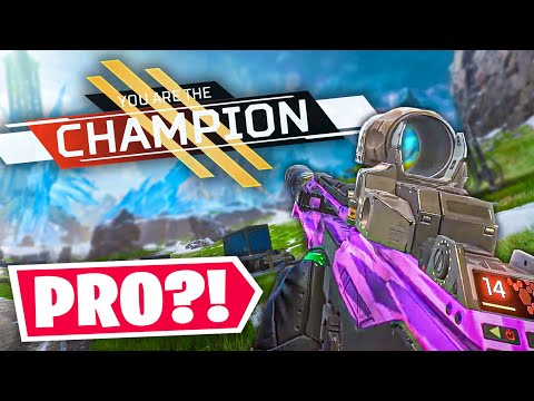 So I Decided To Become A Pro In Another Game... - Apex S4