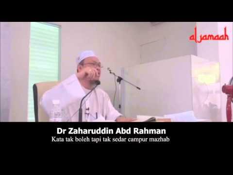 Kata tak boleh tapi tak sedar campur mazhab | Dr Zaharuddin Abd Rahman