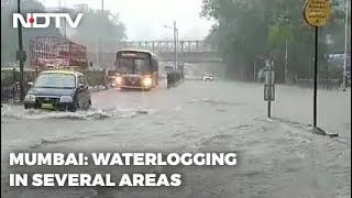 Heavy Rain In Mumbai, Many Areas Waterlogged