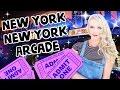 New York New York Big Apple Arcade in Las Vegas!
