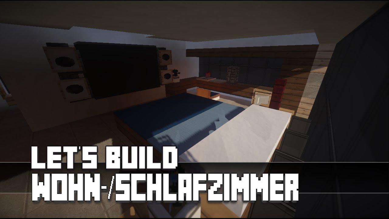 Minecraft möbel tutorial modernes wohn schlafzimmer haus nr 12