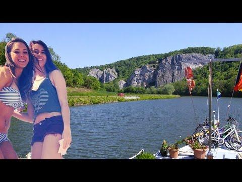 BARGING THROUGH EUROPE - Episode 4 - Fumay to Paris