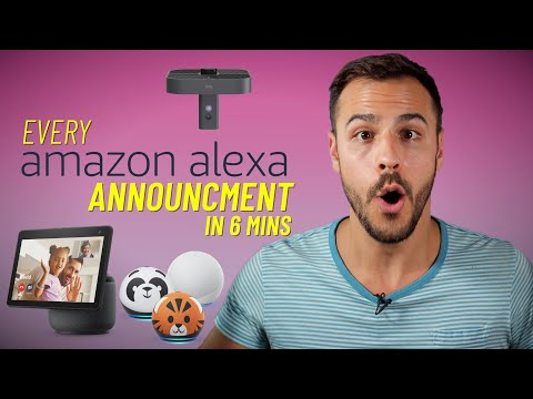 Every Announcement in 6 Mins - Amazon Alexa Event 2020