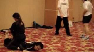 Wing Chun Kung Fu -- Lazy Man Smokes Pipe (7)