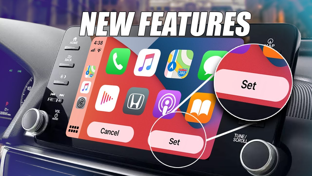 To select a wallpaper, tap wallpapers in the settings menu and then tap one of the 5 wallpapers you would like to use. Ios 14 In Apple Carplay New Features Wallpapers Youtube