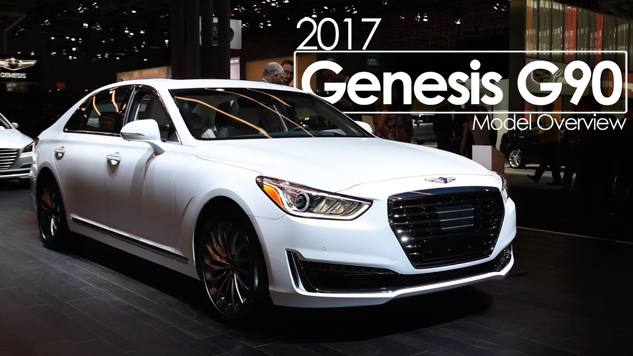 International Auto Show >> 2017 Genesis G90 | 2016 New York International Auto Show - YouTube