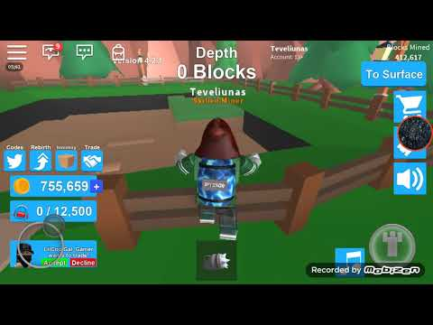ROBLOX| Mining Simulator #2 Road to moon!