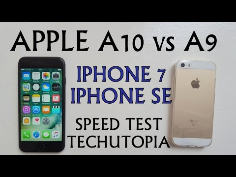 iPhone 7 vs iPhone SE Speed test/Gaming/Benchmarks/Comparison(Apple A10 vs A9)Games/Apps