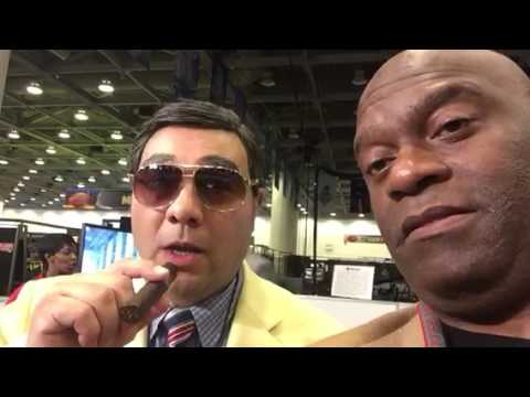 Mr. C In Heaven At NFL Super Bowl Radio Row #SB50