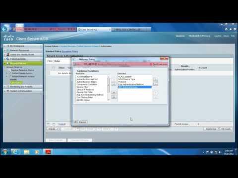 Cisco Wireless LAN (WLAN) with ACS Configuration