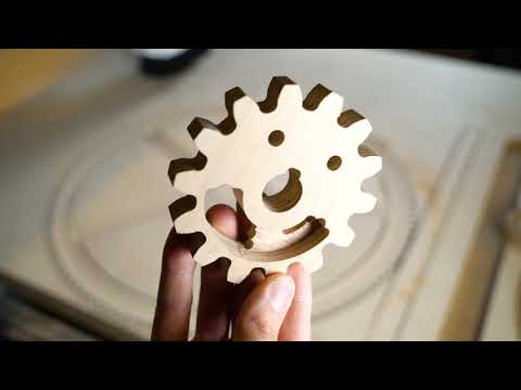 Plywood Gears  - Marble Machine X #12