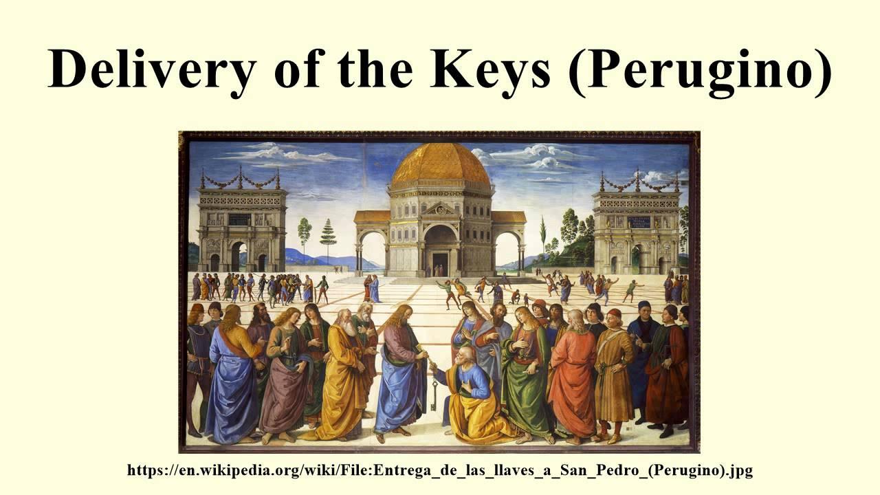 perugino christ delivering the keys