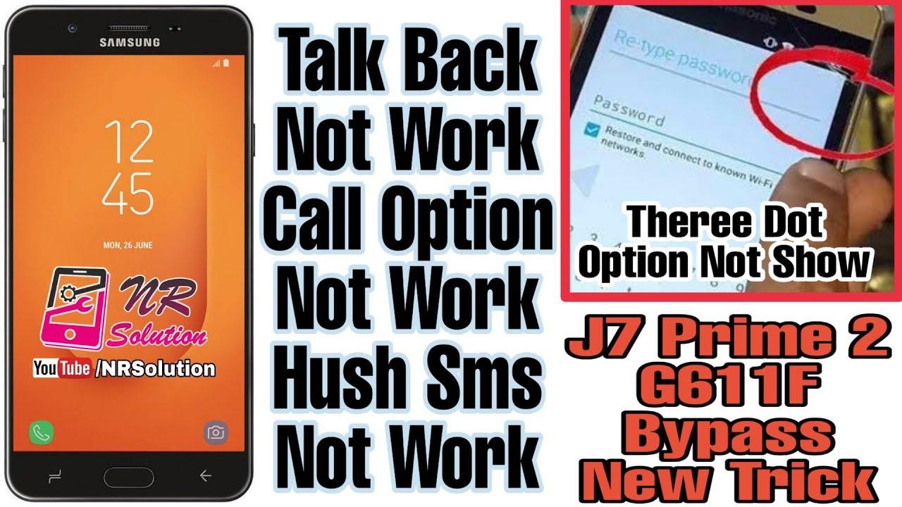 Samsung j7 prime 2 frp unlock file | Samsung Galaxy J7 2018 SM  2019