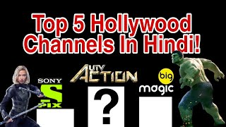 Top 5 Hollywood Movies Channel In Hindi|Hollywood-Hindi Channels Rank|UTV Action|Sony Pix|Big Magic