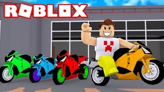 I SPENT R $1 MILLION OF REAIS ON MOTORCYCLES IN ROBLOX!!