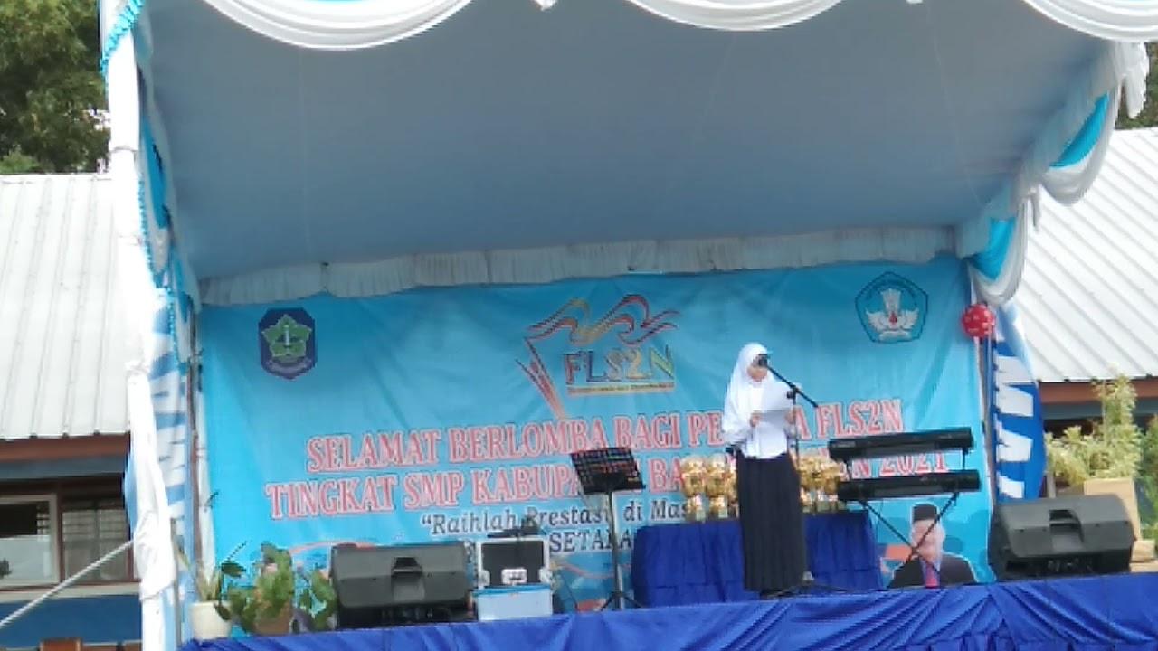 Puisi FLS2N Kab. Bangka 7
