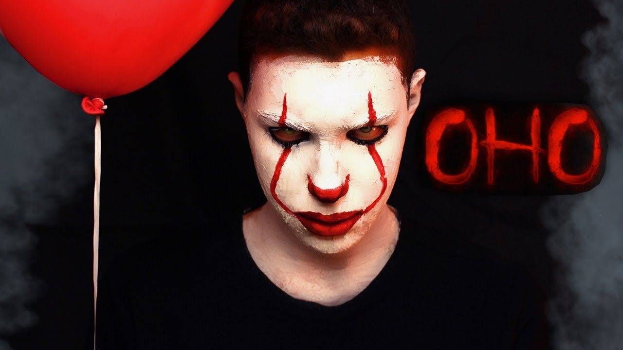 картинки лицо клоуна