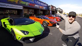 How To Drive Exotic Cars On A Budget!