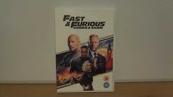 Hobbs And Shaw (UK) DVD Unboxing