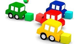Lehrreicher Zeichentrickfilm - Die 4 kleinen Autos - Wir testen die neue Rennstrecke