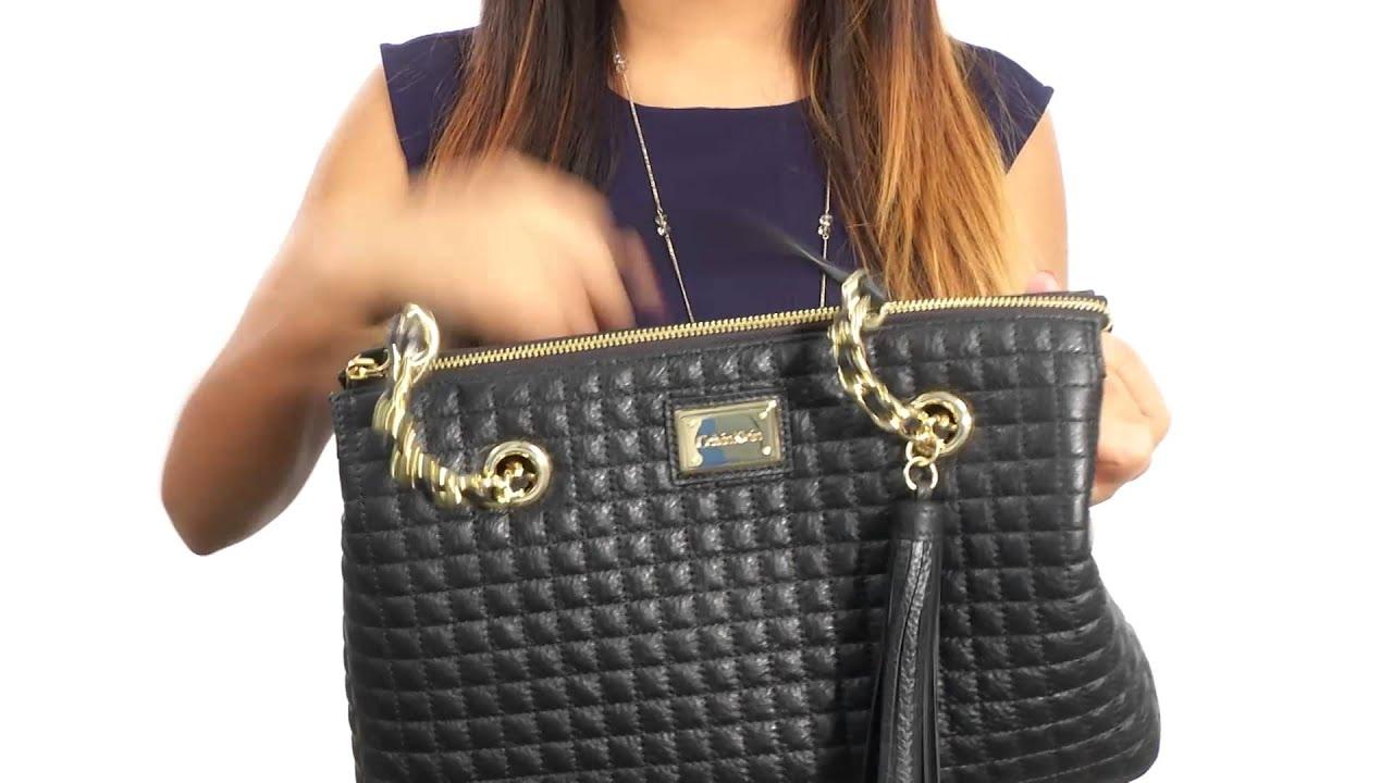 Calvin Klein Quilted Pebble Satchel SKU:8622800 - YouTube : calvin klein quilted purse - Adamdwight.com