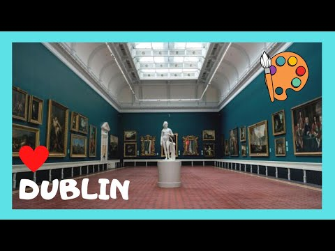 DUBLIN, the magnificent National Gallery of IRELAND