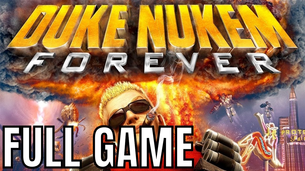 Duke Nukem Forever - Full Game Walkthrough (No Commentary Longplay)