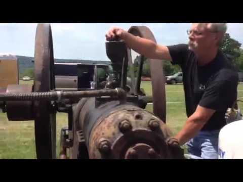Bessemer oilfield engine startup after 50+ years