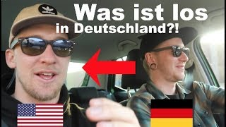 AMERICAN talks to GERMAN about the differences between AMERICA and GERMANY