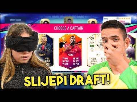 SLIJEPI DRAFT SA VANJOM! FIFA 19