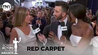 Jennifer Aniston: Red Carpet Interview   26th Annual SAG Awards   TNT