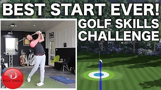 BEST START EVER! - NEW GOLF SKILLS CHALLENGE