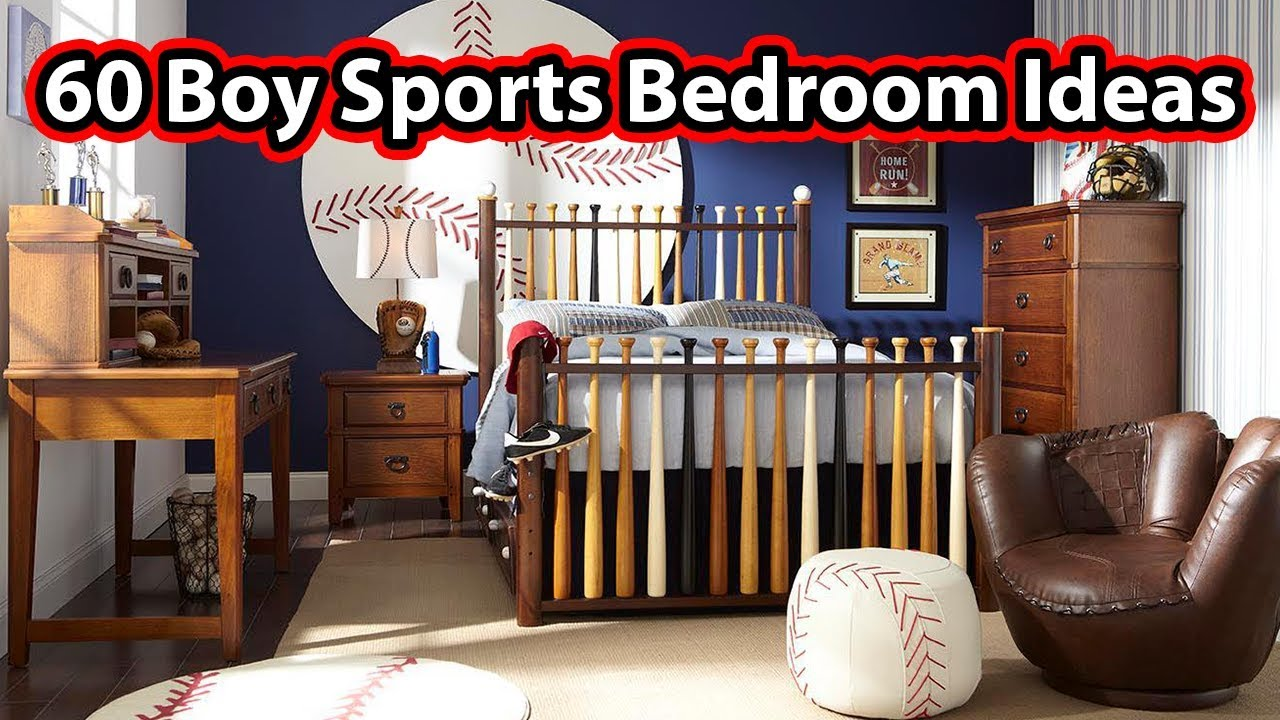 60 Cool Sports Themed Boy\'s Bedrooms - CREATIVE DESIGN IDEAS - YouTube