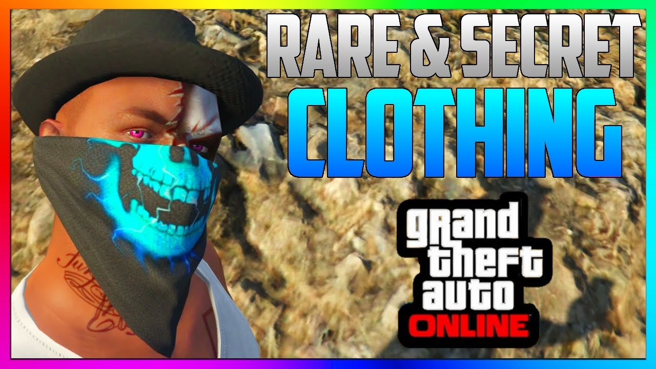 GTA 5 Online: RARE CLOTHING GLITCH! - ANY Hat With Bandanna *NEW