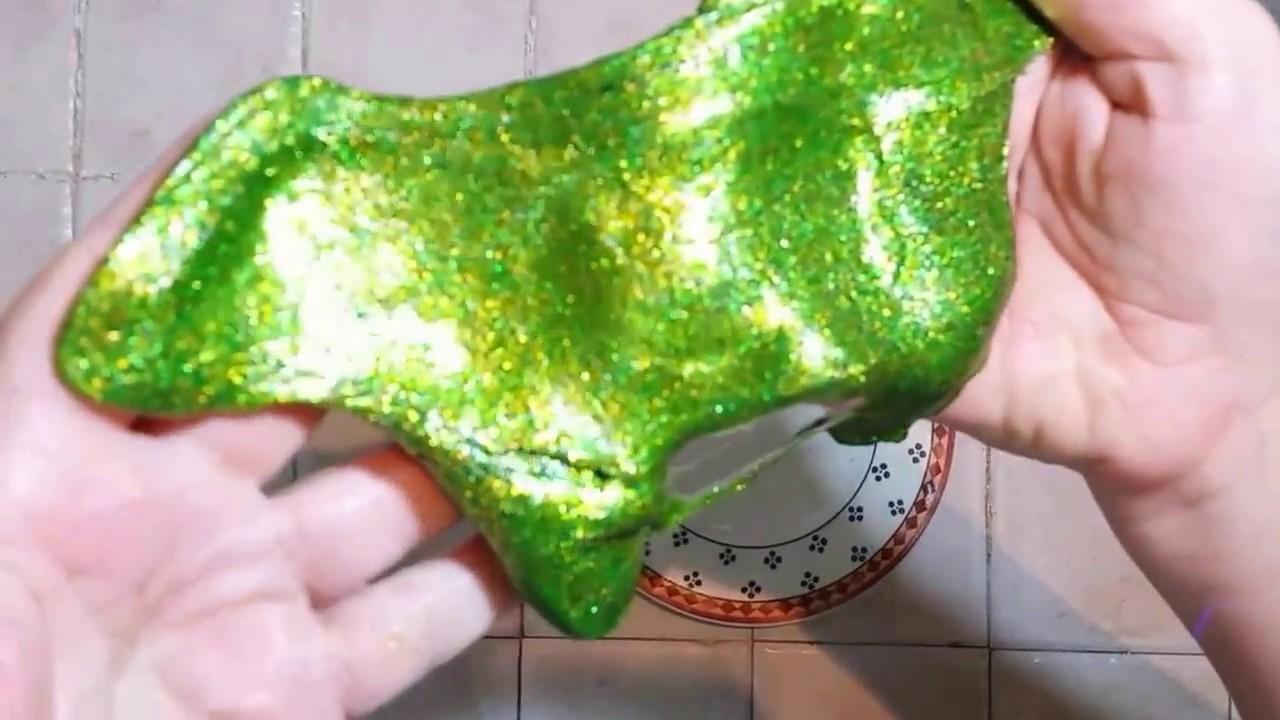 Slime Con Detergente Y Cola Silicona Sin Borax Youtube