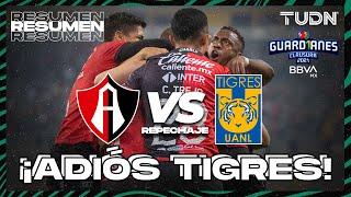 Resumen y goles   Atlas vs Tigres   Guard1anes 2021 BBVA MX Repechaje   TUDN