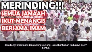 MERINDING!!! Semua Jamaah Menangis Mendengar Bacaan Surah Al-Haqqah (Kiamat) Imam Paling Merdu