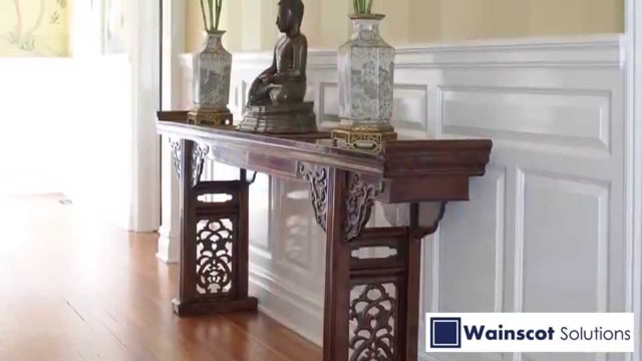 Wainscot solutions inc custom assembled wainscoting - Welcome To Wainscot Solutions