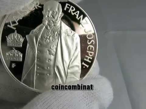 100 Schilling 1994 Österreich Kaiser Franz Joseph I  Silber PROOF Austria ebay