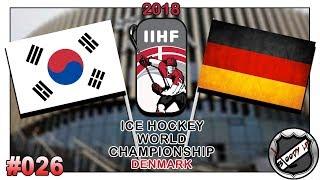 EISHOCKEY WELTMEISTERSCHAFT 2018 [Deutsch/German] #026 - Deutschland - Südkorea ★ IIHF 2018